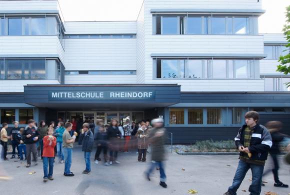 Schulgebäude MS Rheindorf